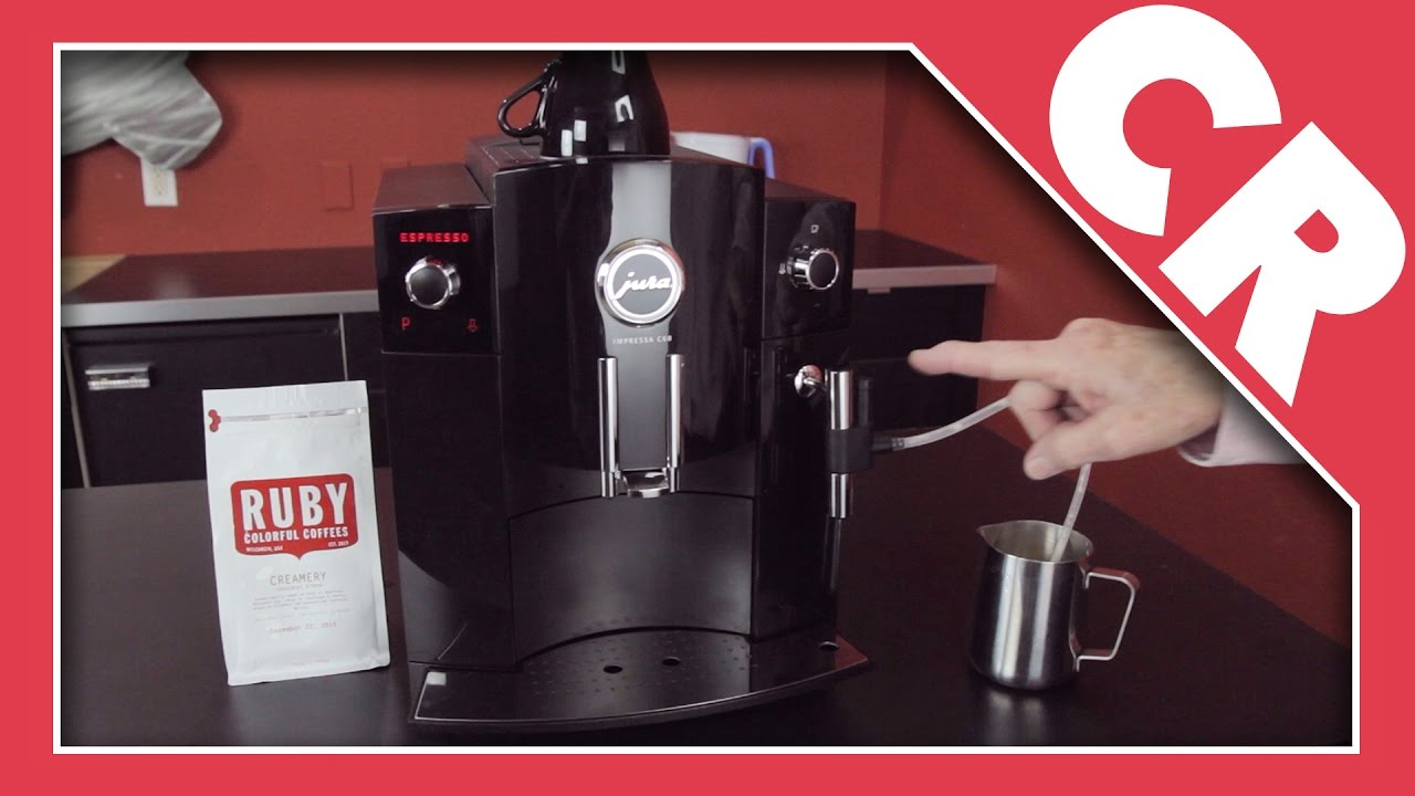 jura impressa c60 automatic coffee center crew review. Black Bedroom Furniture Sets. Home Design Ideas