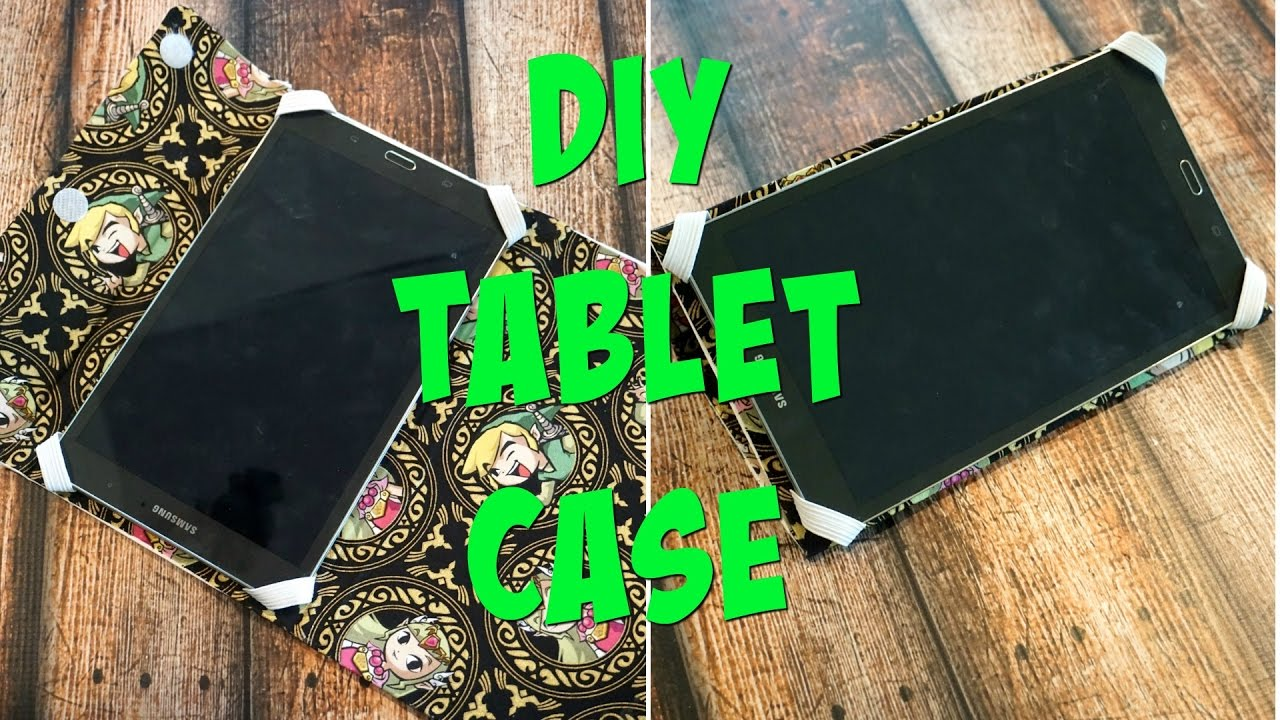 Diy Tablet Case No Sew Nerdy Crafts Ep 39