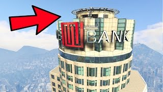 GTA 5 SECRET HIDDEN ROOM IN MAZE BANK TOWER GTA 5
