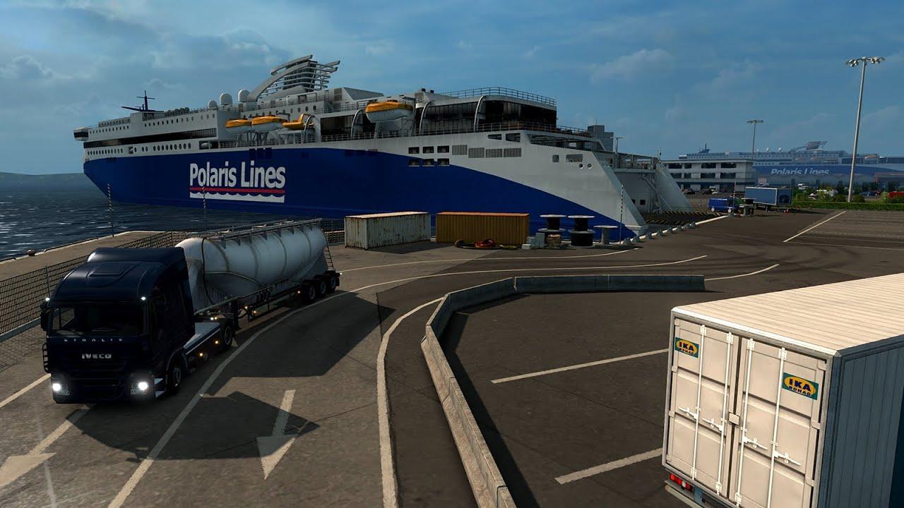 euro truck simulator 2 scandinavia release trailer. Black Bedroom Furniture Sets. Home Design Ideas