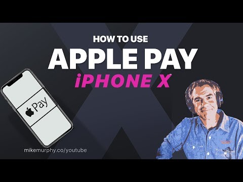 How To Use Apple Pay On IPhone X