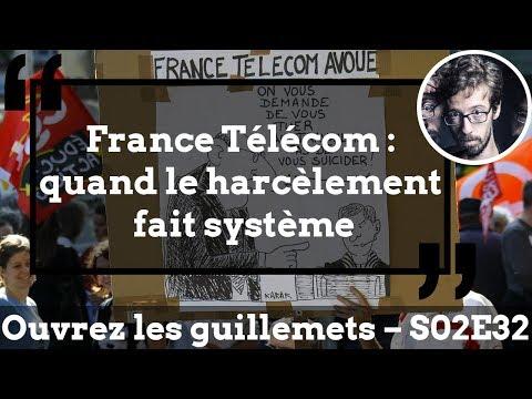 Usul. France Télécom : quand le harcèlement fait système
