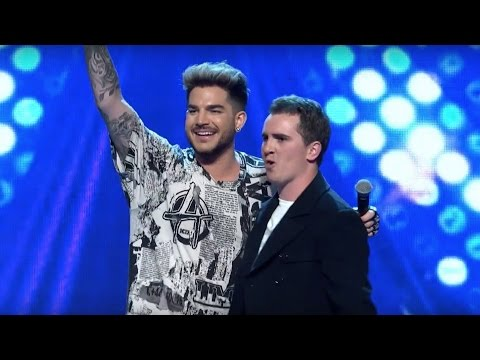 The X Factor Australia - Harley Vass Sings 'I Want To Break Free' By Queen with Adam Lambert