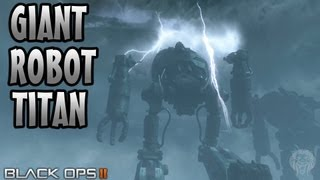 ORIGINS Zombies: Can You Destroy The Giant Metal Robot Titans? (COD Black Ops 2 Zombies Guide)