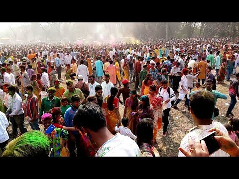 Basanta Utsav 2018   Santiniketan Holi Full Review
