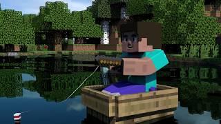 Yarım Kalan Şarkı - Minecraft Animasyonu