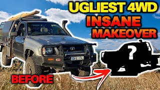 WORST PAINT JOB IN AUSTRALIA! Hilux TRANSFORMED FOR UNDER $1,000 – Resale value increased by $4,000!