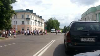 Бобруйск: парад выпускников 2016 год