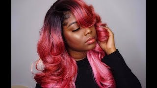 BEAUTIFUL ROSE GOLD HAIR!!| Glamshae