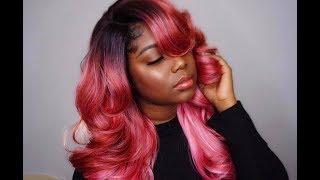 BEAUTIFUL ROSE GOLD HAIR!!| Glamshae