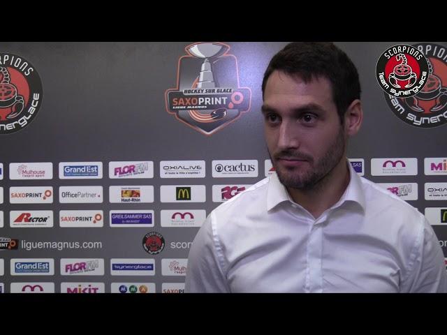 Interviews fin de saison 2017/2018 - Erwan Agostini