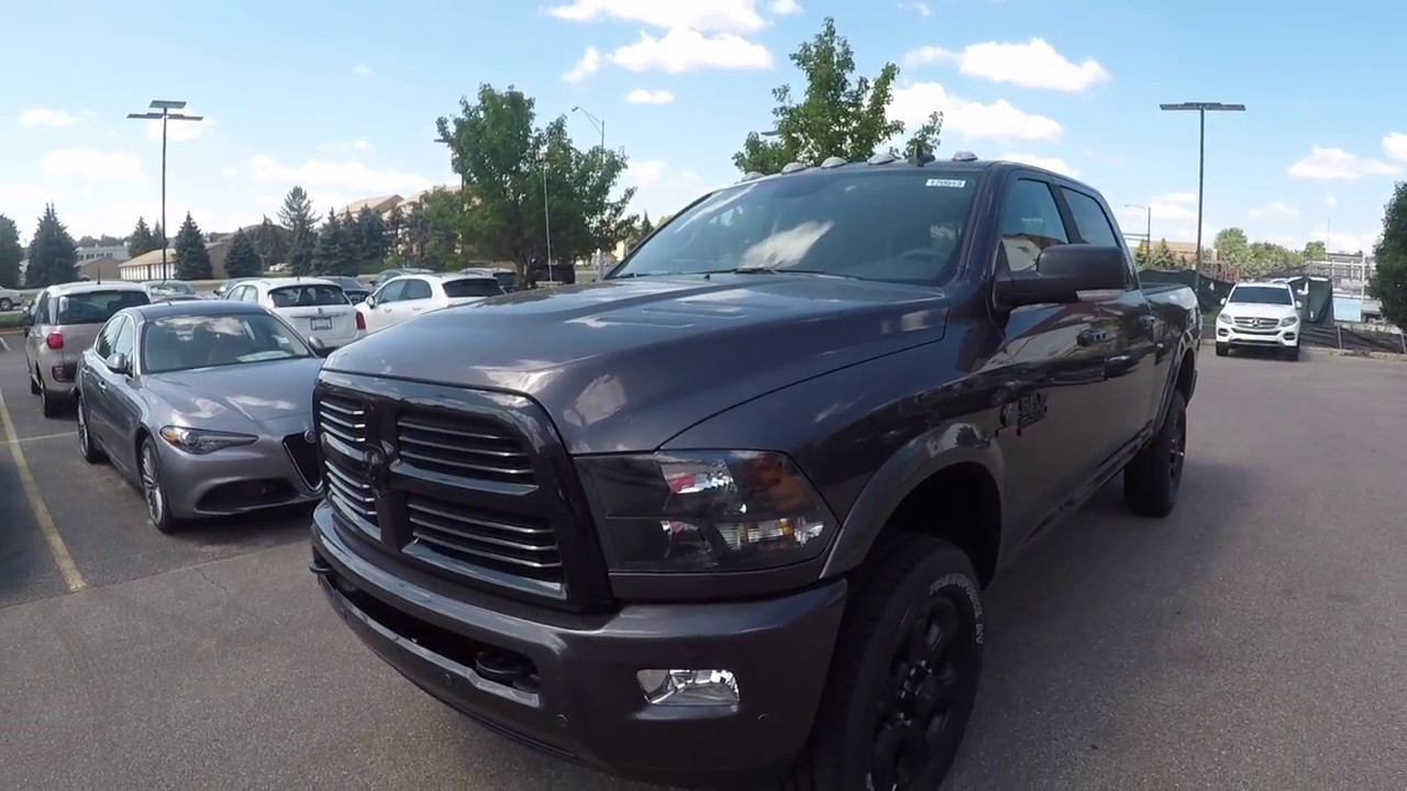 2017 Ram 2500 Midnight Edition - YouTube