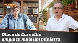 Guru da direita, Olavo de Carvalho emplaca mais um ministro