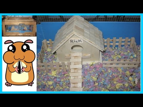 Pallet Wood & Wire   Hamster Cage   HOMEMADE
