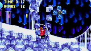 Sonic 3 - No Hit Run - Ice Cap Zone Act 2