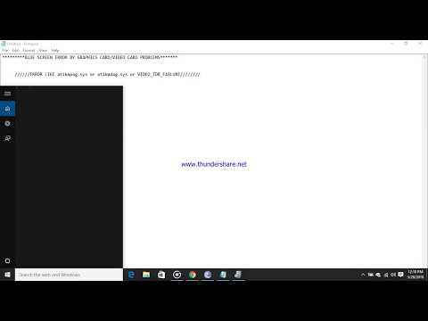 BLUE SCREEN ERROR FIX FOR atikmpag.sys/VIDEO_TDR_FAILURE