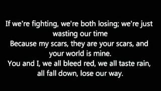 We all Bleed Red Lyrics BY Ronnie Dunn