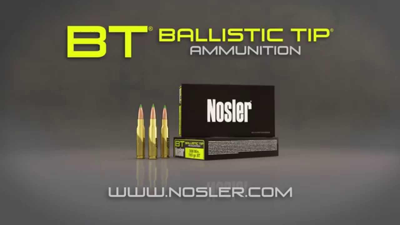 Nosler® Ballistic Tip® Ammunition