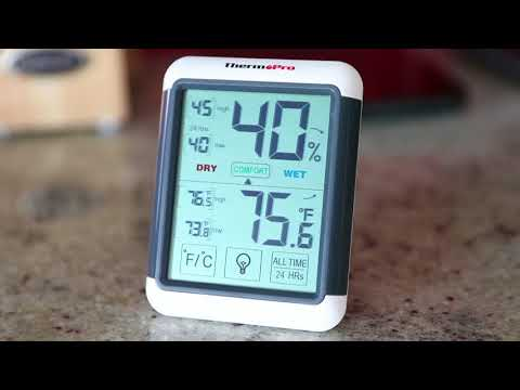 ThermoPro TP55 Temperature and Humidity Monitor