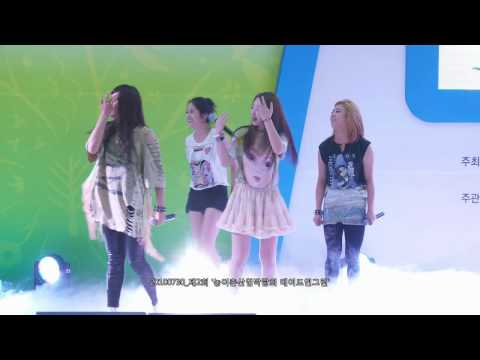 [Fancam] 100730 f(x) (에프엑스) - Mr. Boogie (미스터 부기)