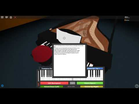 Roblox Piano Dance Of The Sugar Plum Fairy | A Easy Way To ...