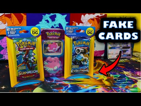 Dollar General Has NEW 3RD PARTY Pokemon Card Products! And It Had A Fake Card