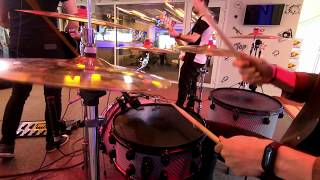 Ruby - Toarna Live at ProFM (drum cam)