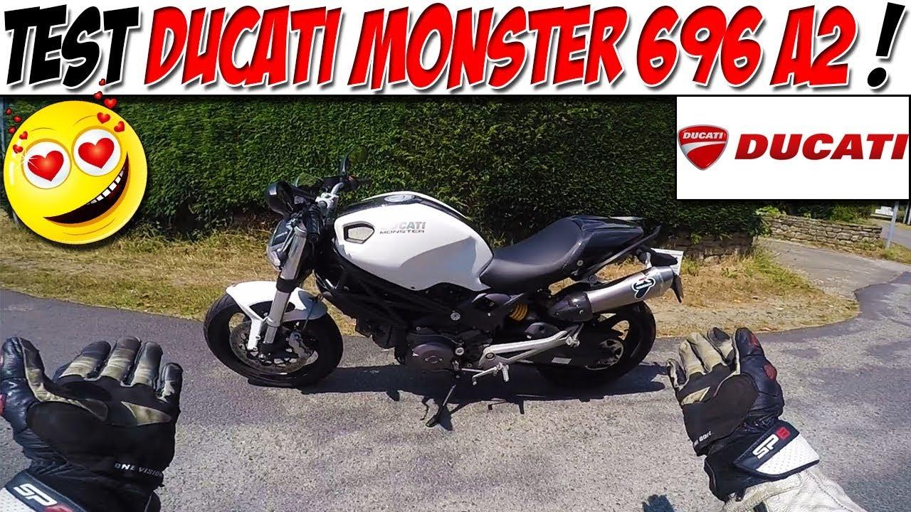 moto vlog 91 test ducati monster 696 a2 top 3 permis a2 youtube. Black Bedroom Furniture Sets. Home Design Ideas