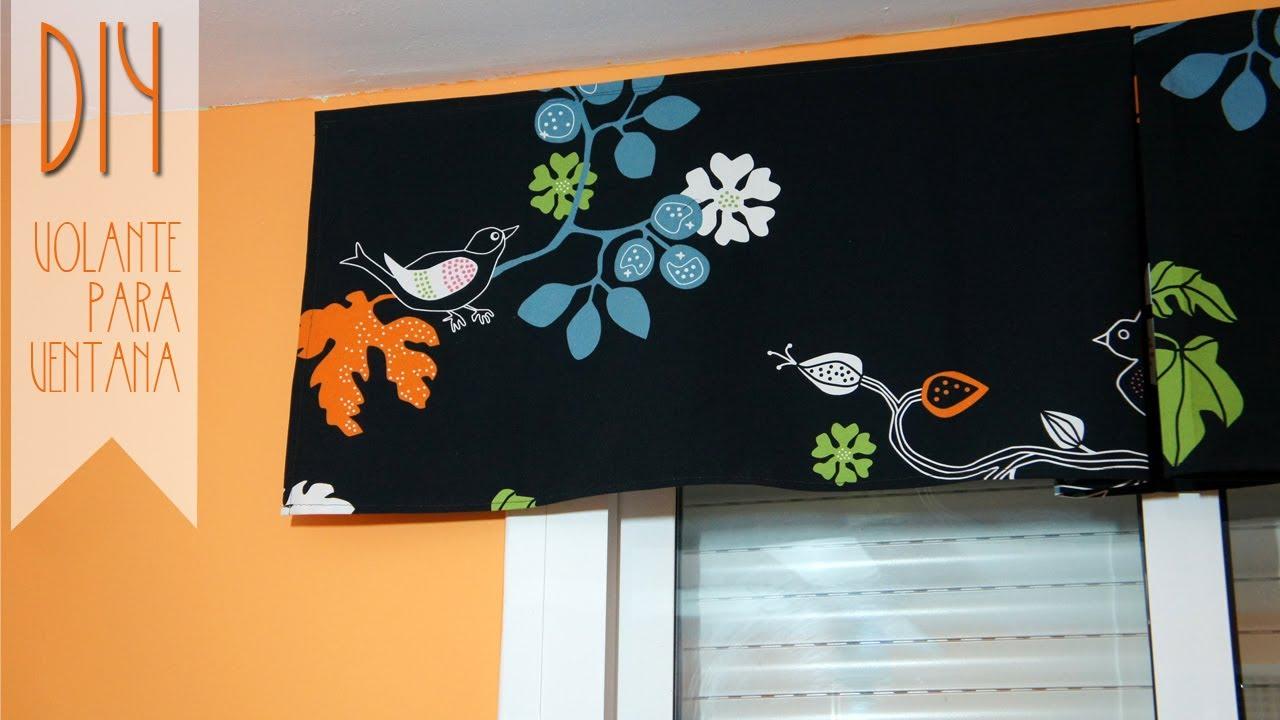 C mo hacer un volante de cortina youtube - Como hacer un bando para cortinas ...