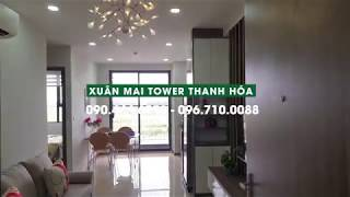 Chung cư Xuân Mai Tower Thanh Hóa diện tích 48,52m2 đầy đủ nội thất