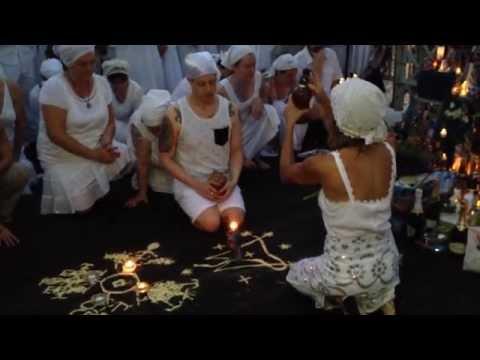 St. John's Eve Headwashing Ceremony - New Orleans - 2014