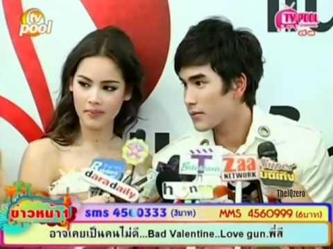 Nadech & Yaya : งานผ้าไทย(สัมภาษณ์)_TV Pool_09.02.12