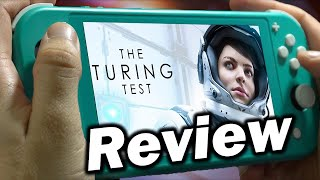 The Turing Test Review | Nintendo Switch (Video Game Video Review)