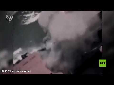 """إسرائيل تنشر فيديو لاستهداف """"غواصة"""" حماس وسيارة قيادي في غزة"""