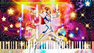 Space☆Dandy - Dandy in Love (ep5 BGM) | Piano Tutorial, スペース☆ダンディ 【ピアノ】