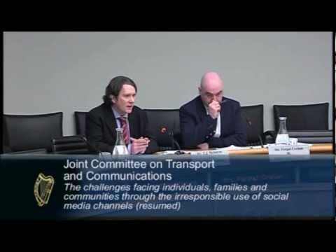Digital Rights Ireland - Oireachtas Social Media Hearings