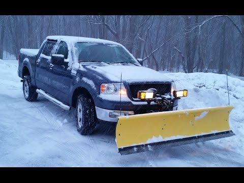 04 F150 Fisher Homesteader Snow Plow 2015 Blizzard