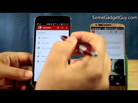 Android App Review: Google Plus Updated! Feature Walk Through and New UI!