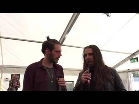 Airbourne Interview Download Festival 2017