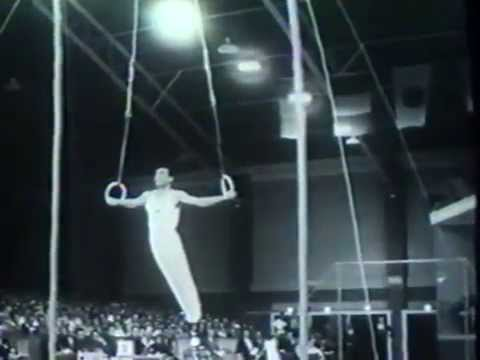 1956 Olympics gymnastics men & women
