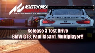 Assetto Corsa Competizione November Patch Test Drive: Online, BMW GT3, Paul Ricard