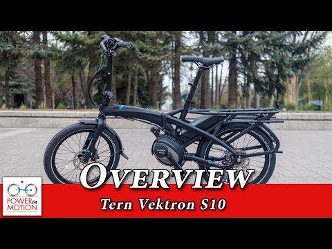 Tern Vektron S10 Overview - Electric Folding Bike   Calgary, Alberta   Edmonton   EBike Calgary