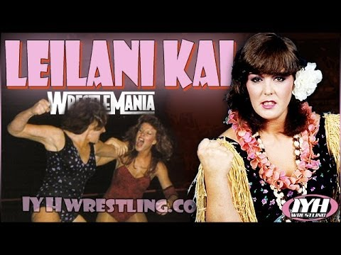 Leilani Kai In Your Head Wrestling interview