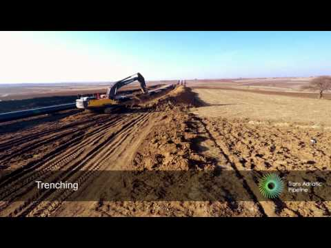 TAP: Time-lapse pipeline construction HD (Under license)