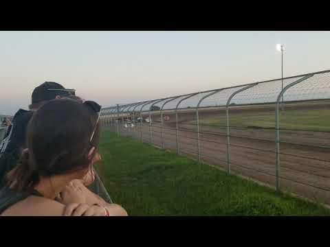 6-29-19 Junction Motor Speedway Late Model Heat Cory Dumperr Last to 2nd