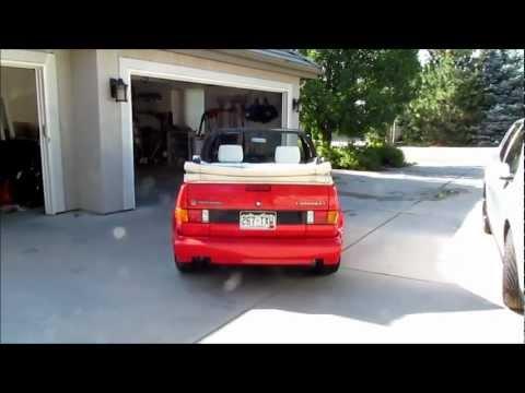 Volkswagen Mk1 Golf Cabriolet & Mk5 Golf GTI HD 1080p