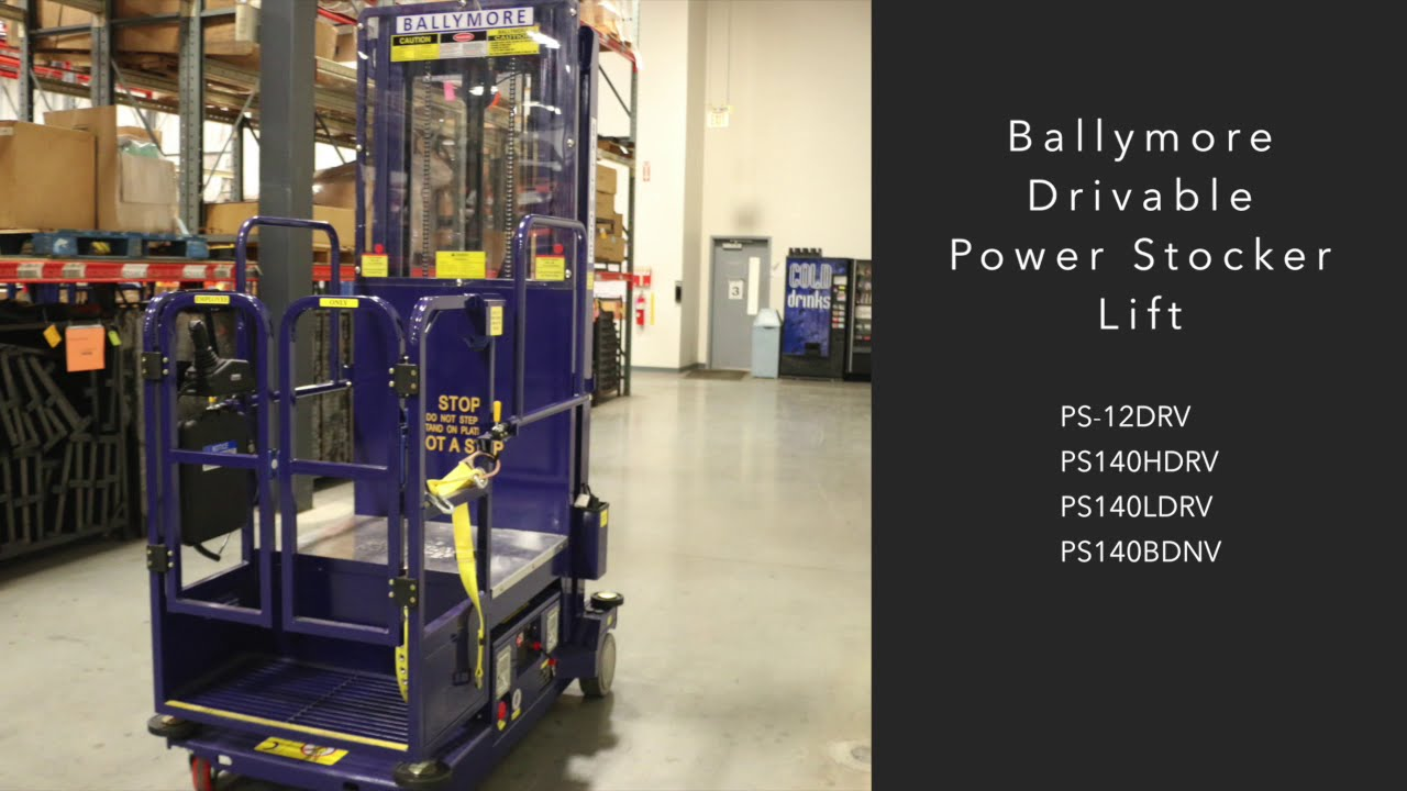 Ballymore Drivable Power Stocker Safety