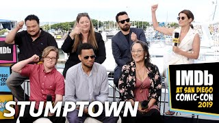 Cobie Smulders, Jake Johnson and Cast of Stumptown Talk Spider-Man, Portland, and Comic-Con