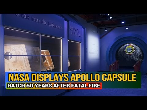 NASA Displays Apollo 1 Capsule Hatch 50 Years after Fatal ...