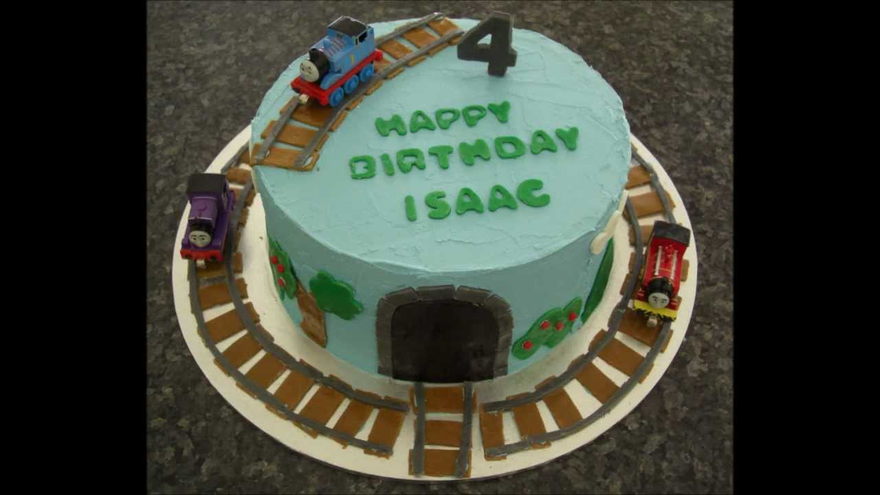 Thomas The Tank Engine Birthday Cake Youtube